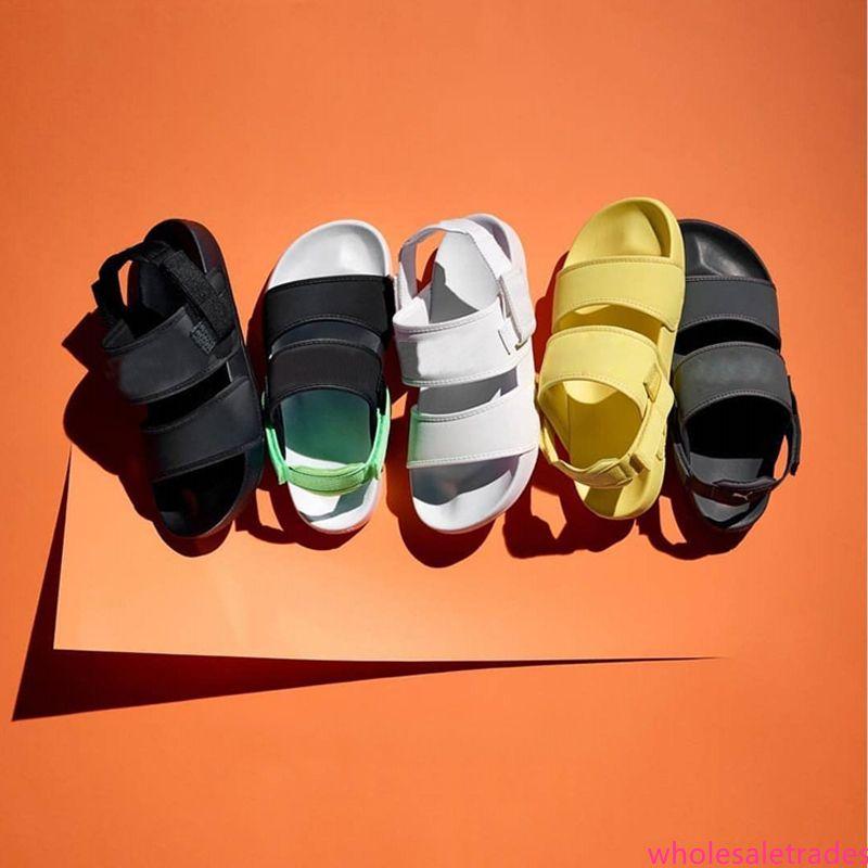 2019 Leadcat YLM Lite сандалии для мужчин женщин тройной черный белый зеленый дизайнерские модные сандалии на платформе Rihanna тапочки пляжная обувь 36-44