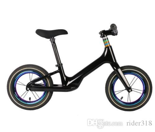 NEW Pedal-less Balance Bike carbon Kids balance Bicycle For 2~6 Years Old Children kids super light complete bike carbon bicycle