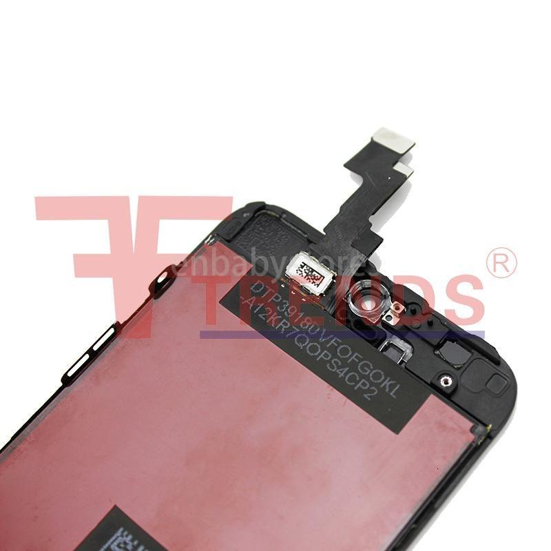 E 5s für Iphone 5 5c Ich LCD-Display Touch-Screen-Digitizer Vollversammlung Ersatzteile preiswerten Preis 50pcs / lot Schwarz-Weiß-freien Verschiffen