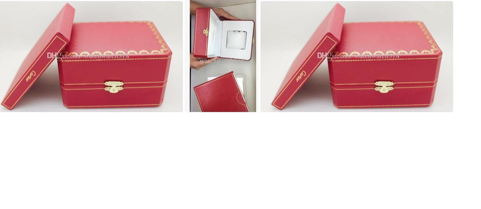 Orologi 2020 vendite calde Orologio di lusso Mens per la vigilanza scatola originale interno esterno della donna imballaggio orologio degli uomini Scatole Moda