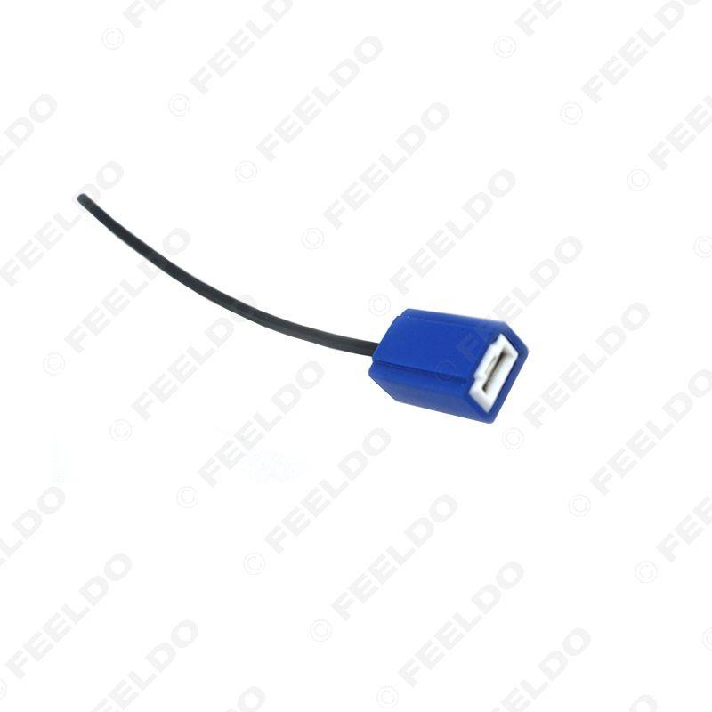 wholesale Car H1/h3 female ceramic Heat Resistance Headlight Wiring Harness lamp holder socket CONNECTOR TER BULB #5463
