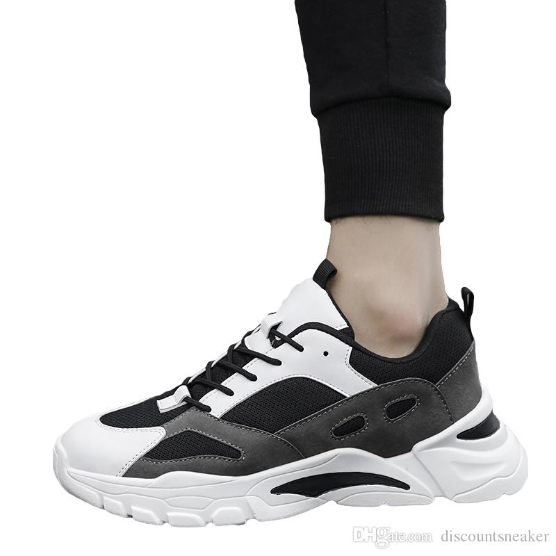2020 Most Popular Fahion Running Shoes Black White Grey And Three Colors Desigern shoes Mens Runner women sneakers