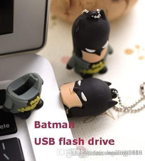 تصميم القدرة الحقيقية باتمان 2.0 USB فلاش حملة ذاكرة عصا 32GB سوبر حملة القلم