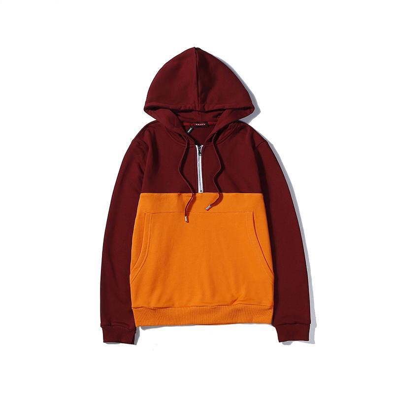 2019 Designer homem hoodies marca roupas masculinas luxo Equipa a camisola vestido de marca roupas casuais B102711J