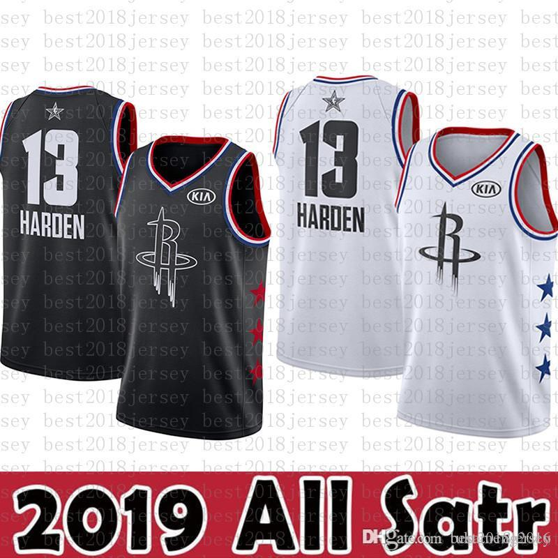 huge discount 73b60 4fa5e 2019 Boston Jersey Celtics 11 Kyrie # Irving Basketball Jerseys 2019 All  Star New Black White KIA Logos Lakers 23 LeBron James From Best2018jersey,  ...
