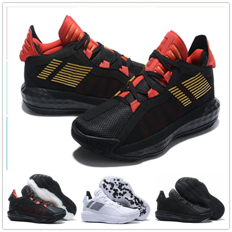 2020 New Damian Lillard Vi Dame 6 Sports Basketball Shoes For Best Quality Mens Shoes Black Red White Sports Sneakers Trainers Size 40 46 Shoes Kids Mens Basketball Shoes From Yxlo1 55 96 Dhgate Com