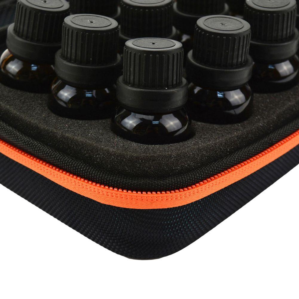 Portable 12 fente EVA huile essentielle bouteille sac de rangement Zip Case Protector Organisation Pouch utile