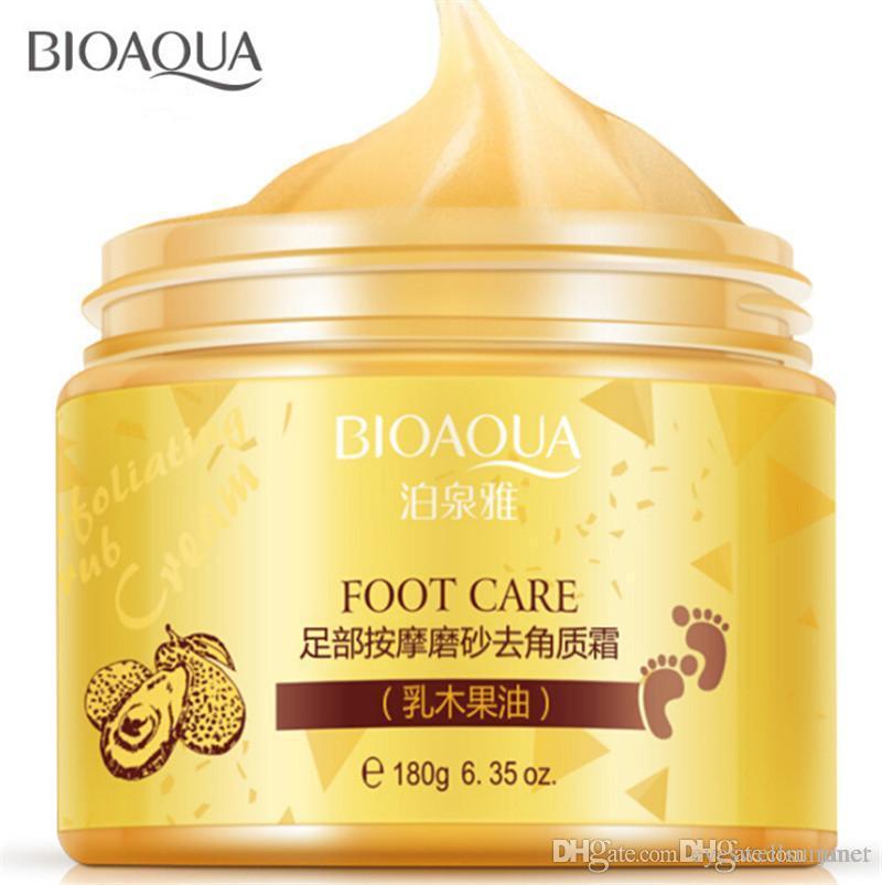 mascherina del piede BIOAQUA Spa Massaggi Scrub piedi crema idratante Peeling Whitening calzini bellezza liscia mani Cura dei piedi per pedicure esfoliante