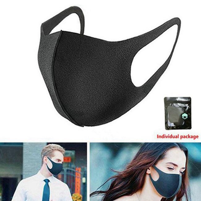 Máscara facial de purificación de aire del polvo anti niebla boca cara máscaras de filtro a prueba de polvo, transpirables y lavables gotas Impedir propagación 300pcs