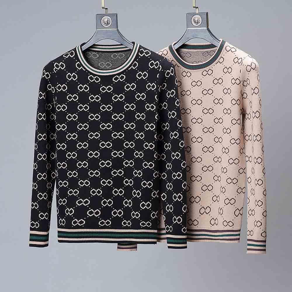 Ingrosso di fascia alta maglieria uomo casuale di alta qualità moda maschile a maniche lunghe uomini maglione delle e alfabeto stampato hoodies delle donne