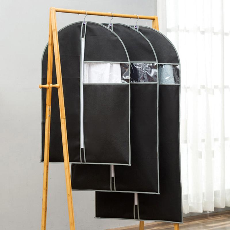 Giyim Anti Toz Kapağı Olmayan Dokuma Kumaş Paketi Vaka Dolap Asma Kat Suit Konfeksiyon Wrap Çantası Dolap Organizatör koruyun
