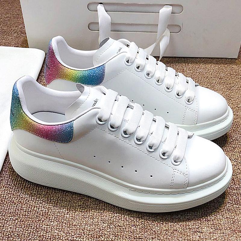 Мужские и женские дорогие ботинки дизайнер обуви 3M отражательная моды партия сдобы обувь бархат дорожки и поле плоское дно увеличилось КЯ