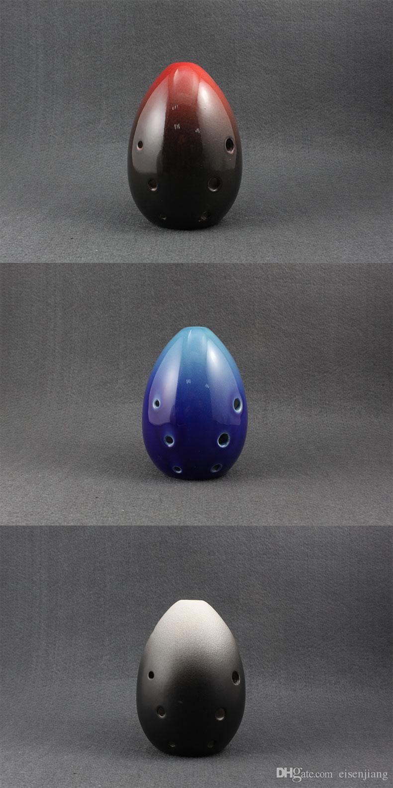 Entrée de type poire 8 trous XUN Ancient Glaze Instruments de musique pour débutants