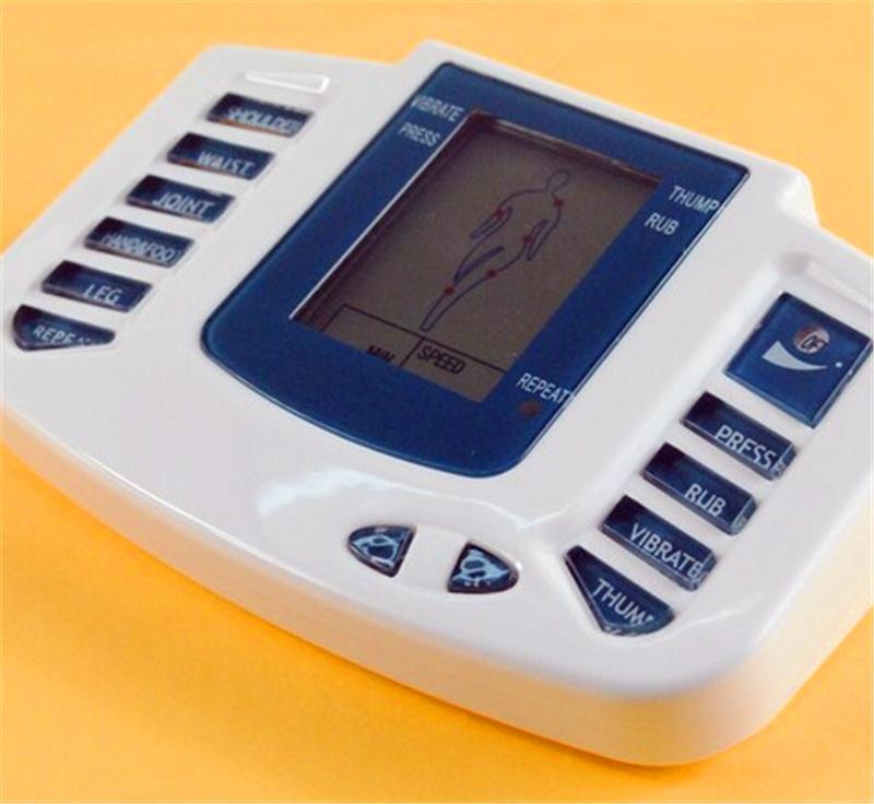 JR309 Électrique Stimulateur Corps Complet Relax Muscle Thérapie Masseur Electro Pulse TENS Acupuncture +