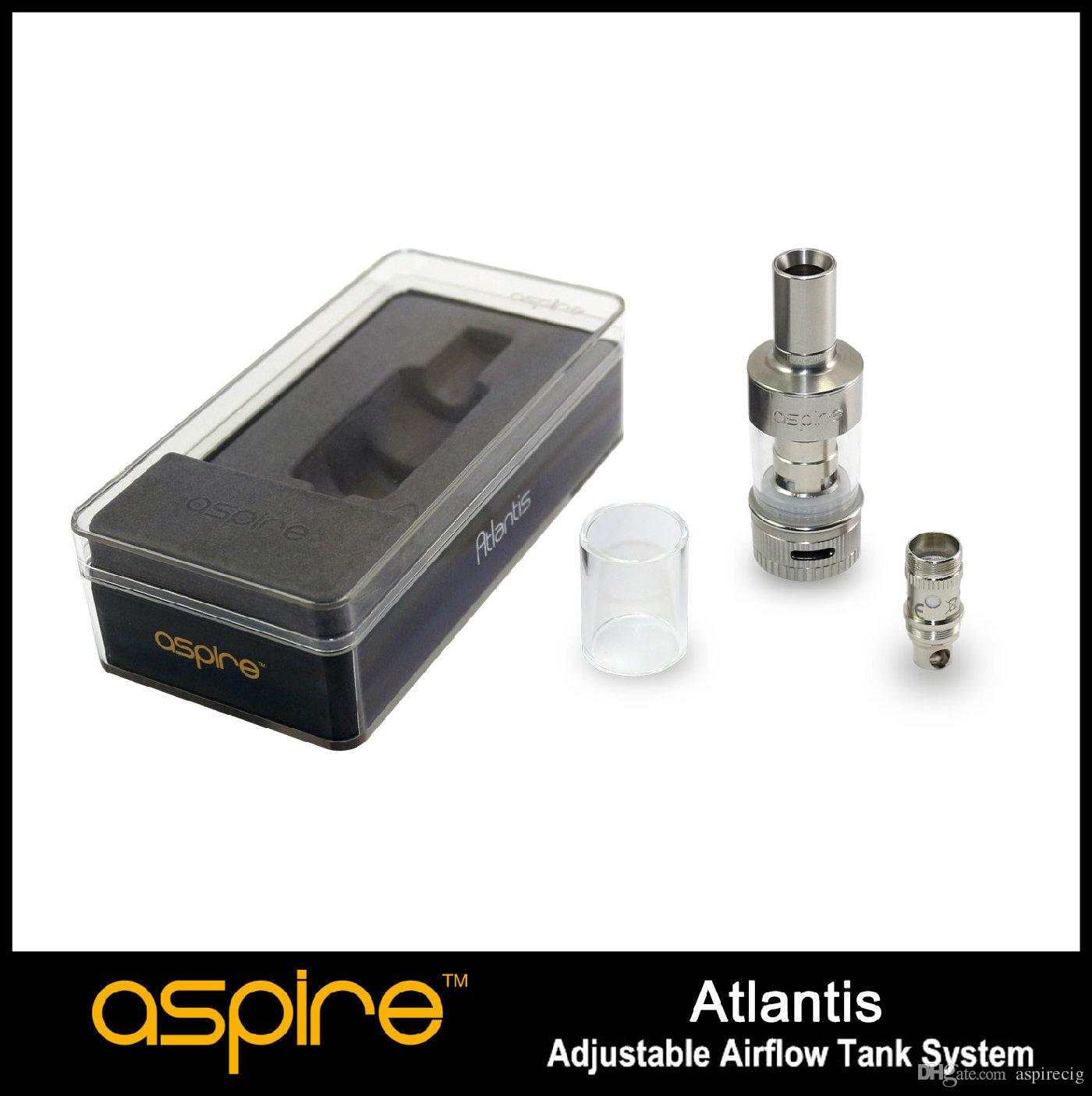 100% подлинный Aspire Atlantis танк поднял планку на новые высоты суб 0.5 Ом низкая ом катушки с лучшим вкусом