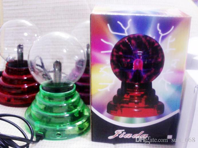 3-inch electronic lamp magic anion ball crystal ball electrostatic USB battery car shipping authentic