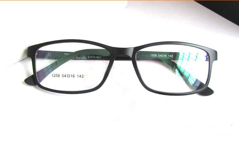 Classic Black Memory Ultem Flexible Glasses Men Women Eyeglass Frame ...
