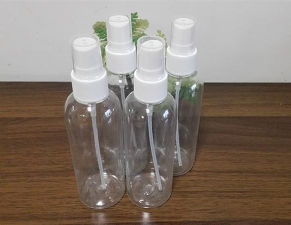 Di alta qualità 100ml Plastic Spray bottiglia riutilizzabile bottiglia di profumo bottiglie in PET con pompa spray shippig # 411