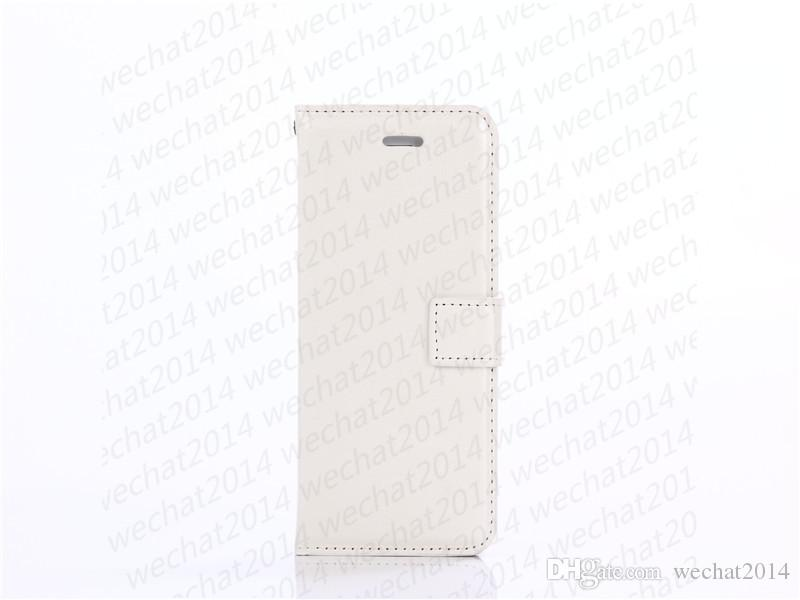 Raccoglitore di cuoio dell'unità della copertura della cassa con la copertura di slot schede Photo Frame iPhone Pro 11 Max Xs Max 5 5s 6 7 8 più