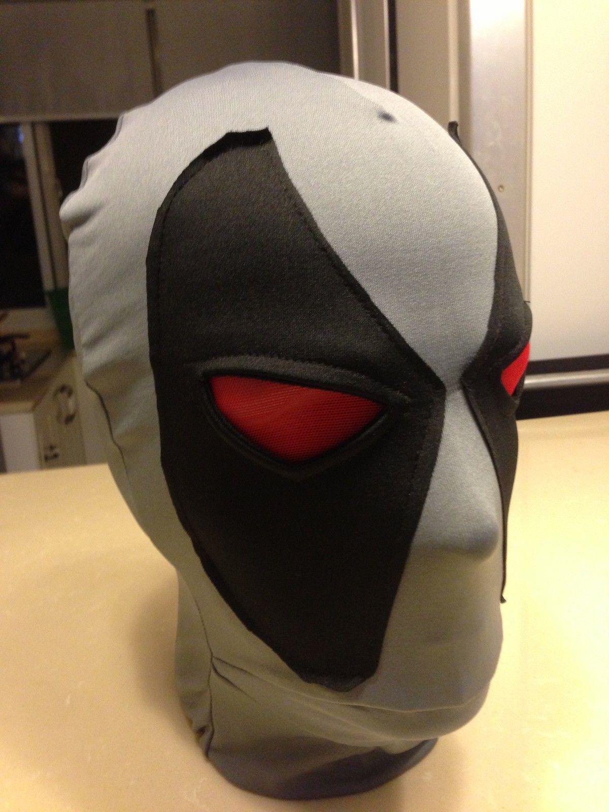 Halloween Deadpool Mask Hoods Cosplay Costume Lycra Spandex Mask ...
