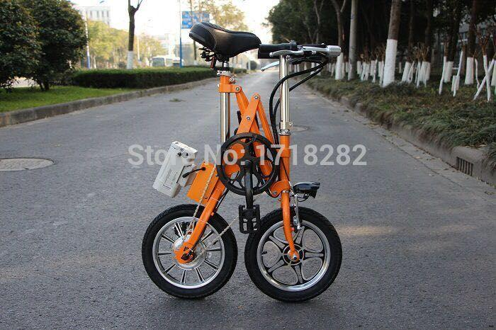14 Inch Li Battery E Bike Folding E Bike Folding Electric Bike