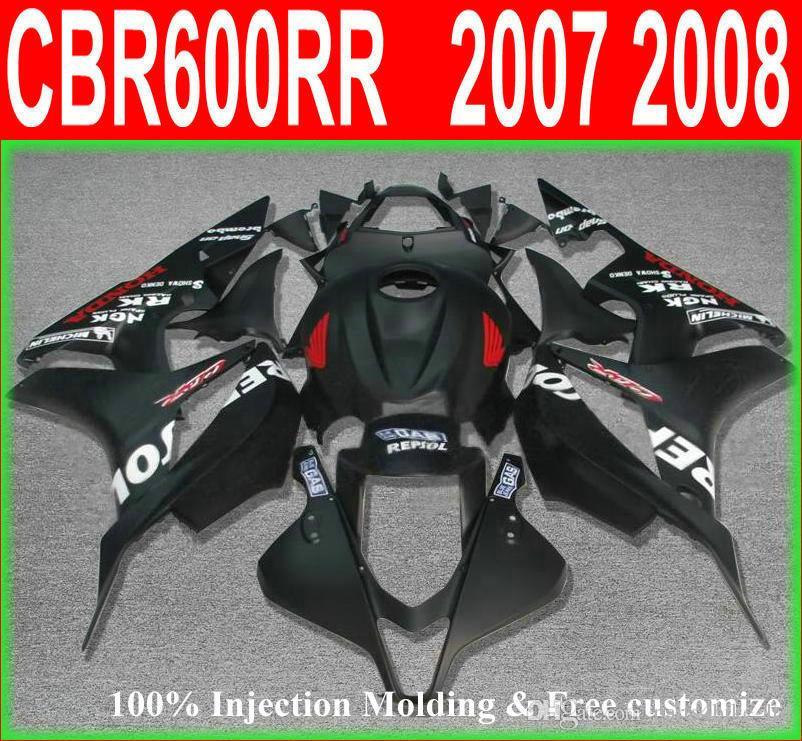 купить оптом Abs гонки Repsol черный для Honda Cbr 600 Rr обтекатель