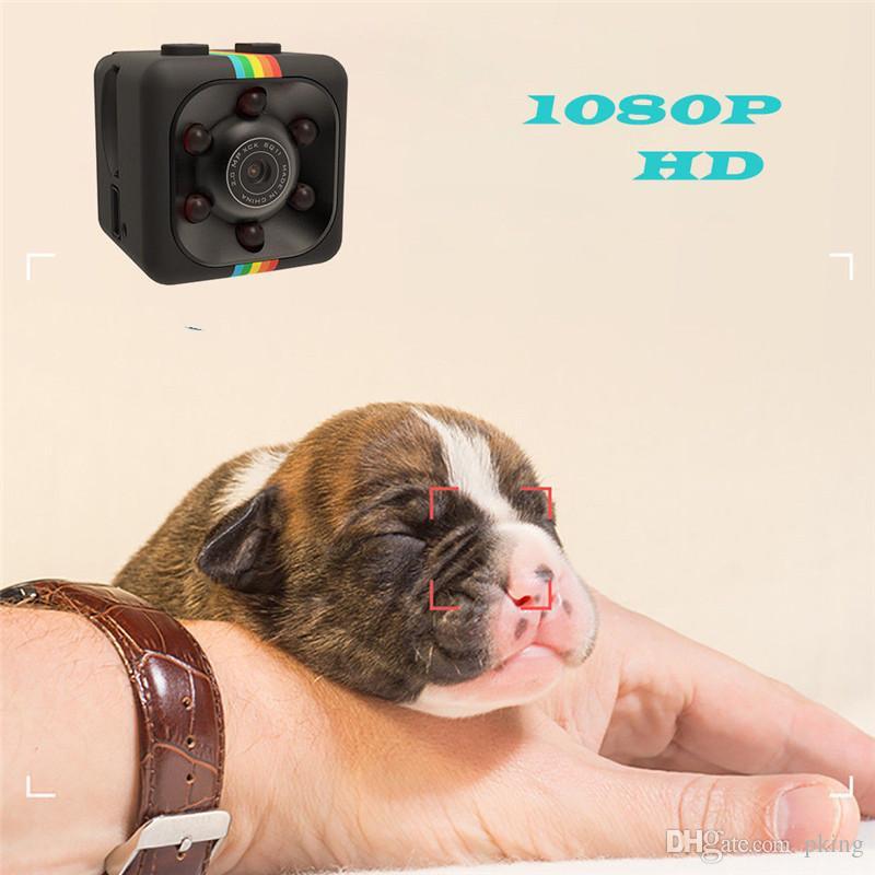 Nuovissima Mini fotocamera SQ11 Videocamera HD 1080P Videocamera visione notturna Mini Videocamera azioni Videoregistratore DV Videocamere Micro