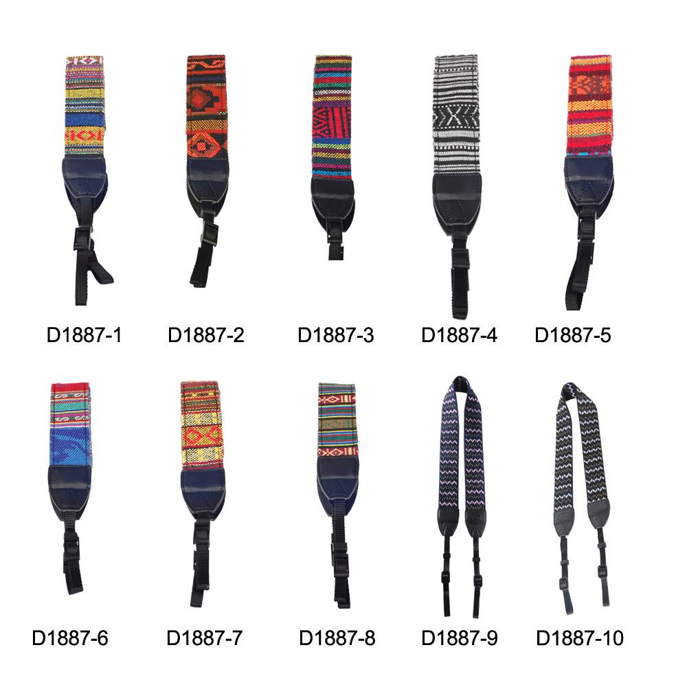 Nylon Vintage Shoulder Neck Strap Camera Strap Sling Belt for Nikon Canon Sony Panasonic SLR DSLR ILDC