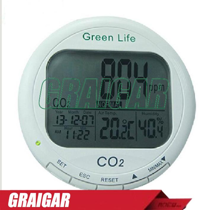 AZ7787 CO2 detector carbon dioxide detector with temperature and humidity dew point temperature detection, handheld CO2 Gas Detector