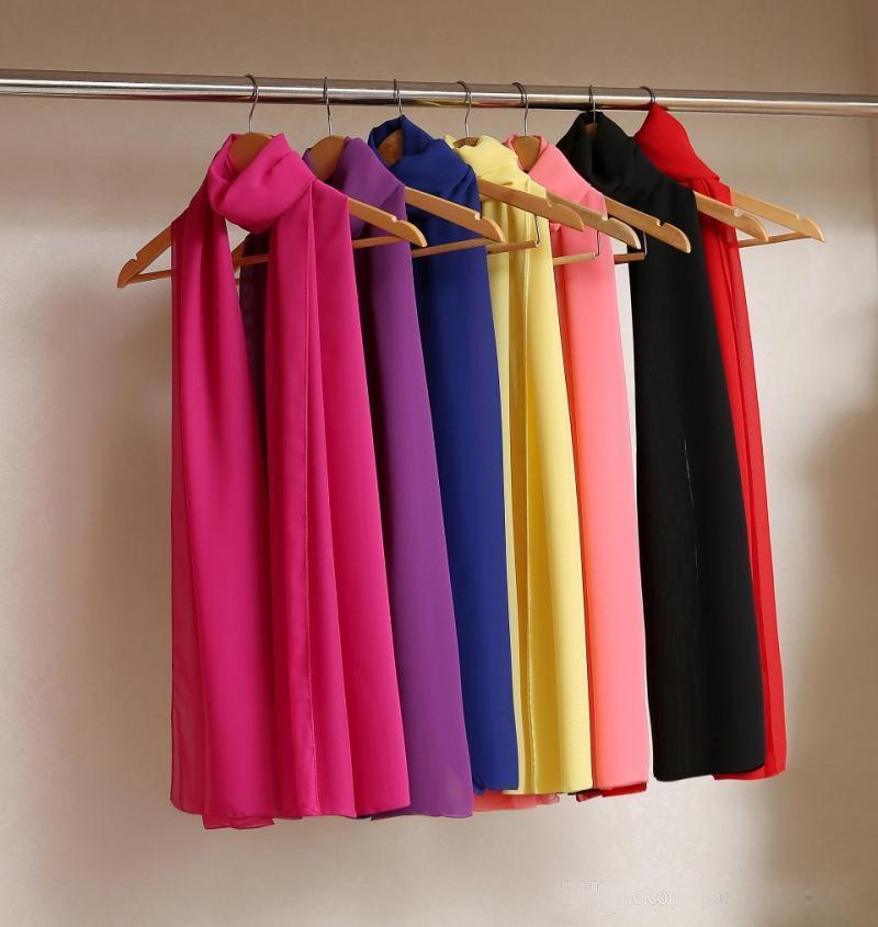 2015 Bridal Chiffon Wedding Jacket Shawl Bridal Accessories women Sunscreen scarves 200*50 cm Evening prom Summer wraps