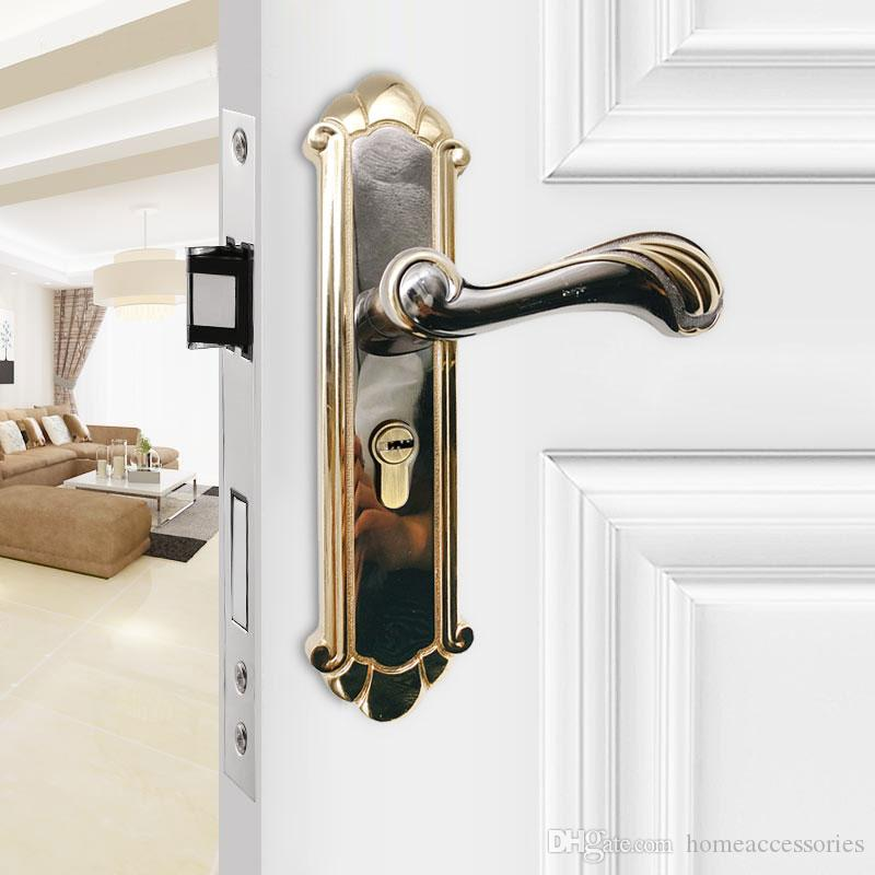 2018 Antique European Style Door Locks Indoor Solid Wood Universal Aluminum  Alloy Bedroom Door Lock Door Hardware From Homeaccessories, $9.55 |  Dhgate.Com