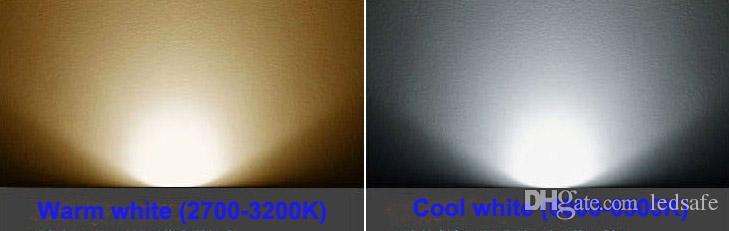 Branca 3W LED recesso teto Spot Light Lamparas 3x1Watt Downlight lâmpada Regulável Não regulável 220V 110V 85-265V AC Branco Quente branco natural