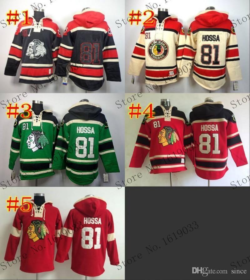 Chicago Blackhawks Cheap Ice Hockey Jersey Hoodie Youth  81 Marian Hossa Hockey  Hoodies  Hooded Sweatshirt UK 2019 From Since 9c04a588050