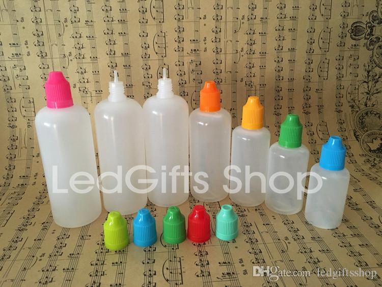 높은 품질 빠른 배송 120ml 플라스틱 병 아동 증거 병 모자와 바늘 팁을 가진 액체 플라스틱 dropper 병