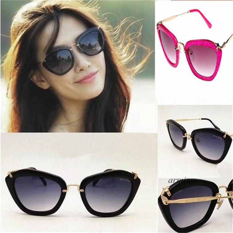 89bf730b9 Retro Cat Eye Sunglasses For Women Girls Designer Sunglasses Wholesale  Vogue Gafas Ladies Luxury Brand Sun Glasses With Case Package Serengeti  Sunglasses ...