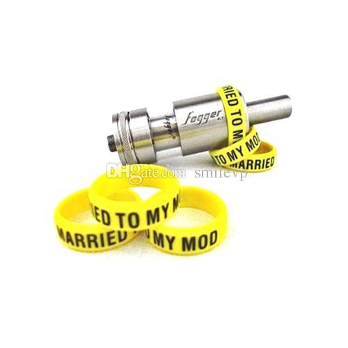 Silicone vape banda mod anel para mods mecânicos decorativos e protetores mod resistência vape bandas de borracha para 18650 22mm mod rda rba DHL