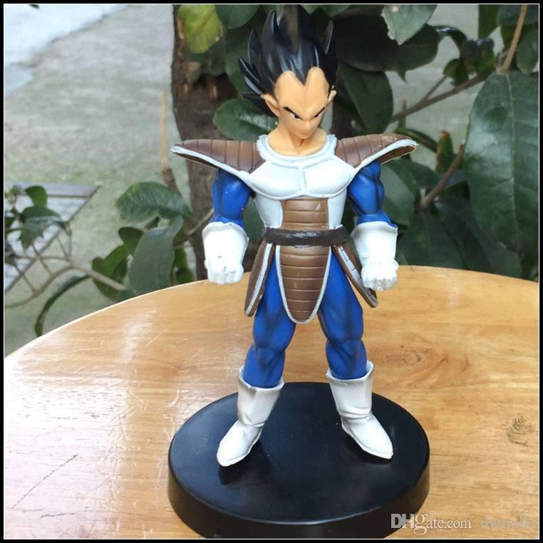 Prettybaby Dragonball 13cm Son Goku Vegeta Raditz Nappa set action figures anime DBZ Kakarotto Collectible PVC plastic toys Pt0239#