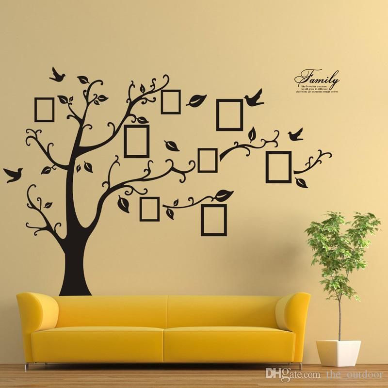 Wall Stickers Home Decor Wall Stickers Tree Family Tree Picture ...