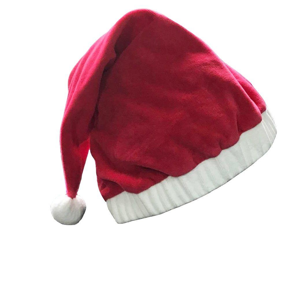 2018 New Christmas Decoration Hats High Grade Christmas Hat Santa Claus Hat  Cute Adults Christmas Cosplay Hats Halloween Decorations Easy Halloween  Costumes ... e083bd07f5e0