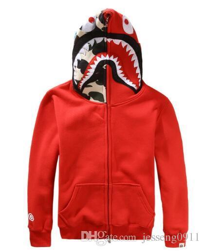 Mujeres para hombre Sportwear Coat Jogger Chándal Pullover Fleece Sudadera Crewneck Bird OVO Drake Hip Hop negro stusay Sudadera con capucha Hombres Tiburón boca
