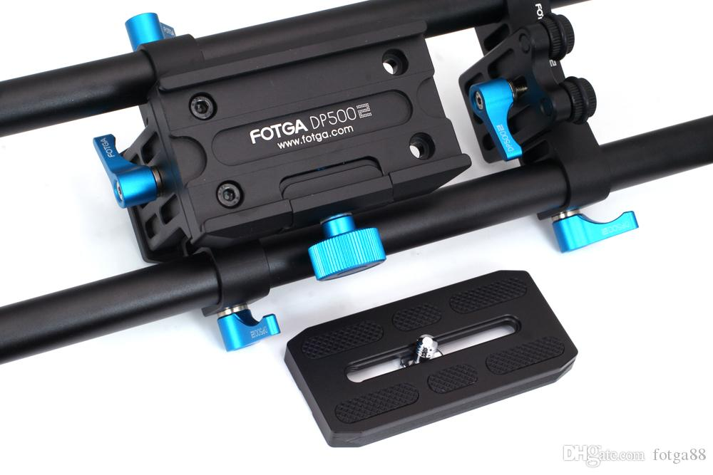 DP500II Quick-Release 15mm Rail Rod Rig Baseplate For DSLR Follow Focus Mattebox