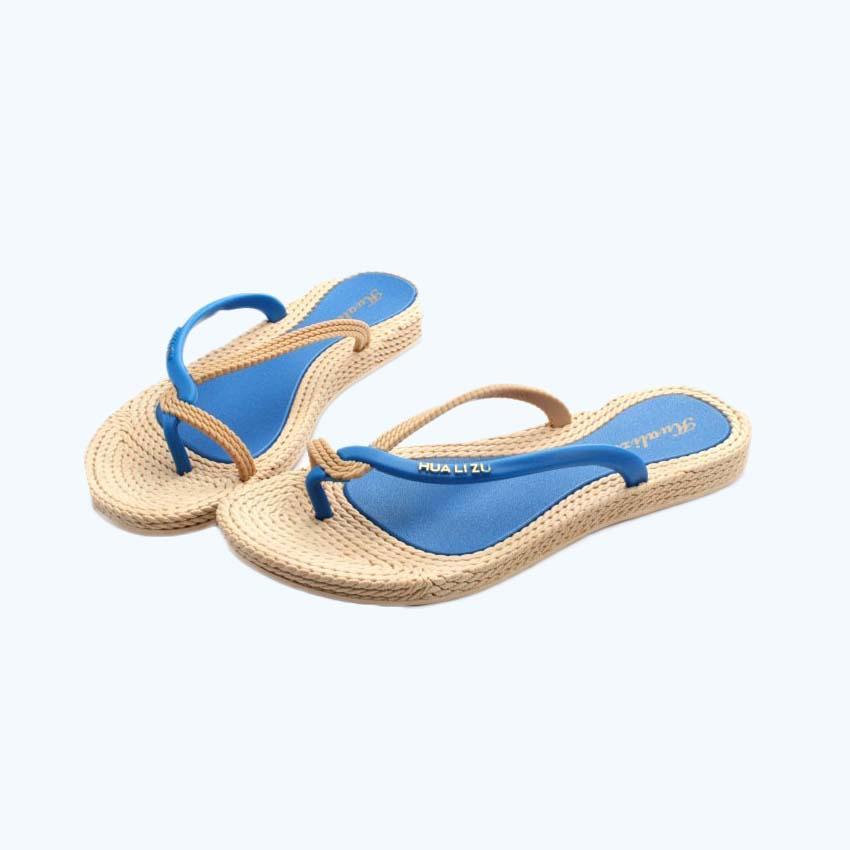 BIGTREE 2017 Summer Style Mujer Chanclas Mujer Sandalias Flip Zapatillas Zapatos de playa 6.7 LAG