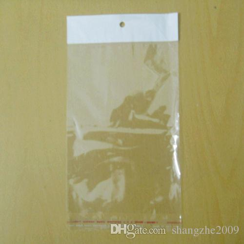 """12x18cm 4.7x7.1"""" Clear Plastic Retail Packaging OPP Poly Bag for Phone Case for Samsung Galaxy S5 S4 S3 Note 2 3 iPhone 6 Plus 5S 5 4S 4"""