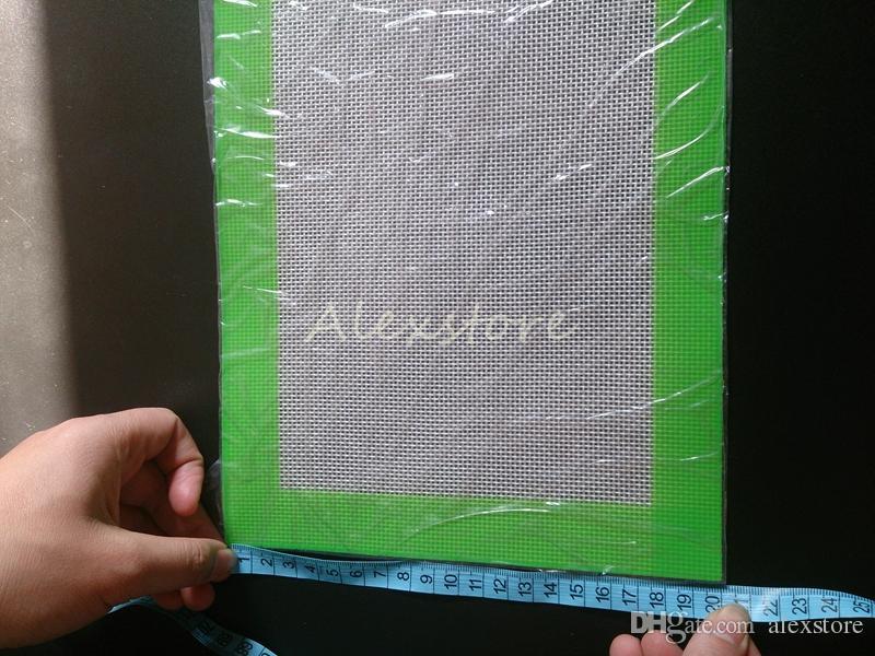 Силиконовые воск колодки сухой травы коврики большой 20 см круглый или 31*20 см квадратный коврик dabber листы банки dab инструмент для силиконовый контейнер vape DHL