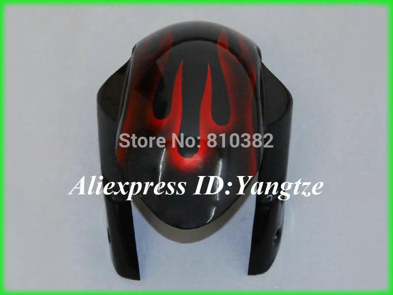 NEW motorcycle fairing kit for SUZUKI GSXR 1000 05 06 GSX-R GSXR 1000 K5 2005 2006 Red flames black trim parts