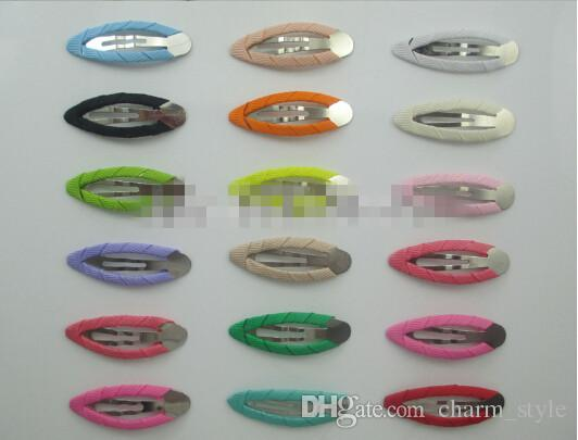 30%off 1.8''Grosgrain Ribbon Covered BB Clip Accessories Single Clips, Baby Girls Hair Accessories,