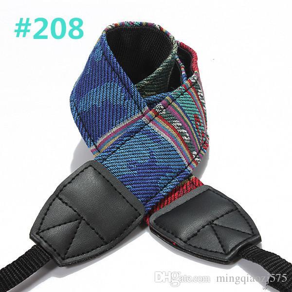 Vintage color Hippie Style SLR DSLR Camera Neck Shoulder Strap Belt Durable Cotton for Canon for Nikon for Pentax for Sony New