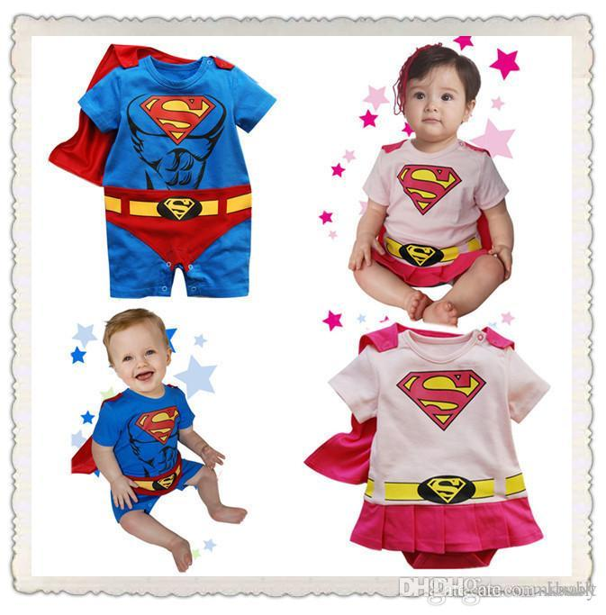 Online Cheap Baby Costume 2016 Summer Superhero Superman Cotton Baby Boy Girl Rompers Newborn Pajama Jumosuit Baby Clothing By Kuailt | Dhgate.Com  sc 1 st  DHgate.com & Online Cheap Baby Costume 2016 Summer Superhero Superman Cotton Baby ...
