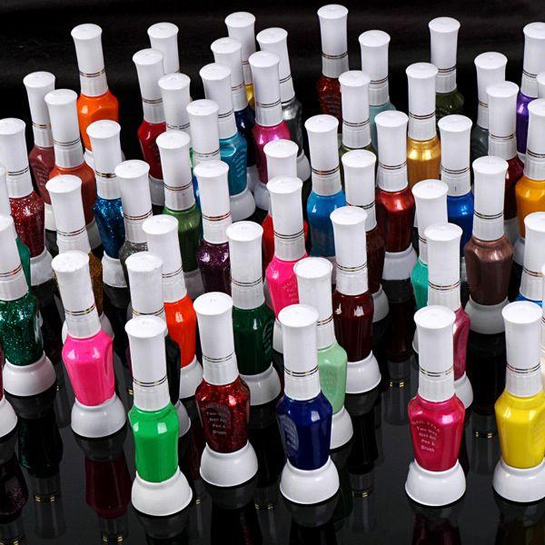 Nail Paint Pen Varnish Polish Tool Set & 2 Ways Nail Art Brush Diy ...