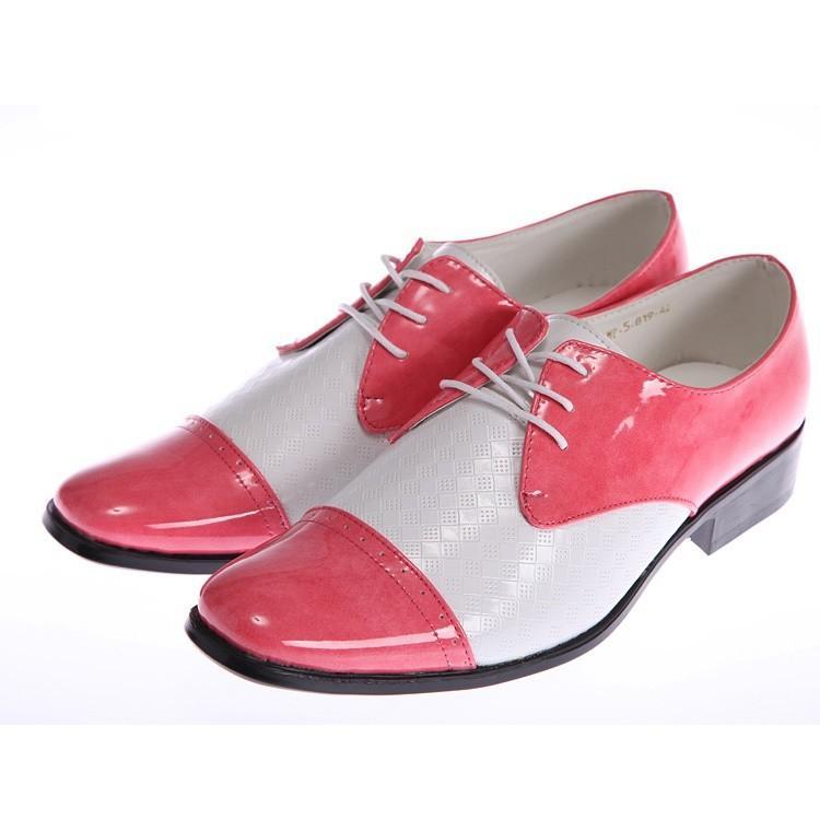 Mens Fuchsia Wedding Shoes
